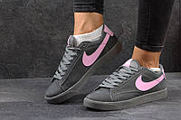 Женские кроссовки Nike SB серые 2743