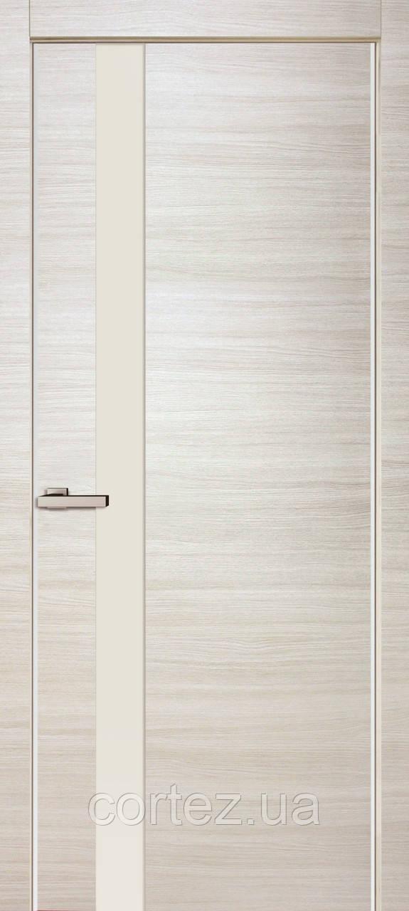 Межкомнатные двери пвх 01 crema bianco line