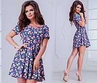 Женское платье (42-44 ; 44-46) — джинс купить в розницу в одессе  7км