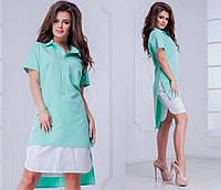 Женское платье (42-46, 48-52) — креп купить в розницу в одессе  7км