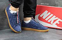 Мужские кроссовки Nike SB темно синие 2745