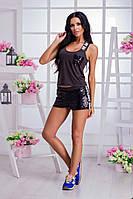 Женский костюм (42-46)  —трикотаж купить в розницу в одессе  7км