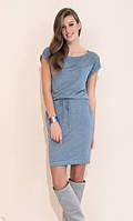 Повседневное платье с коротким рукавом Naos Zaps