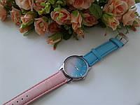 Женские стильные часы градиент двух цветов