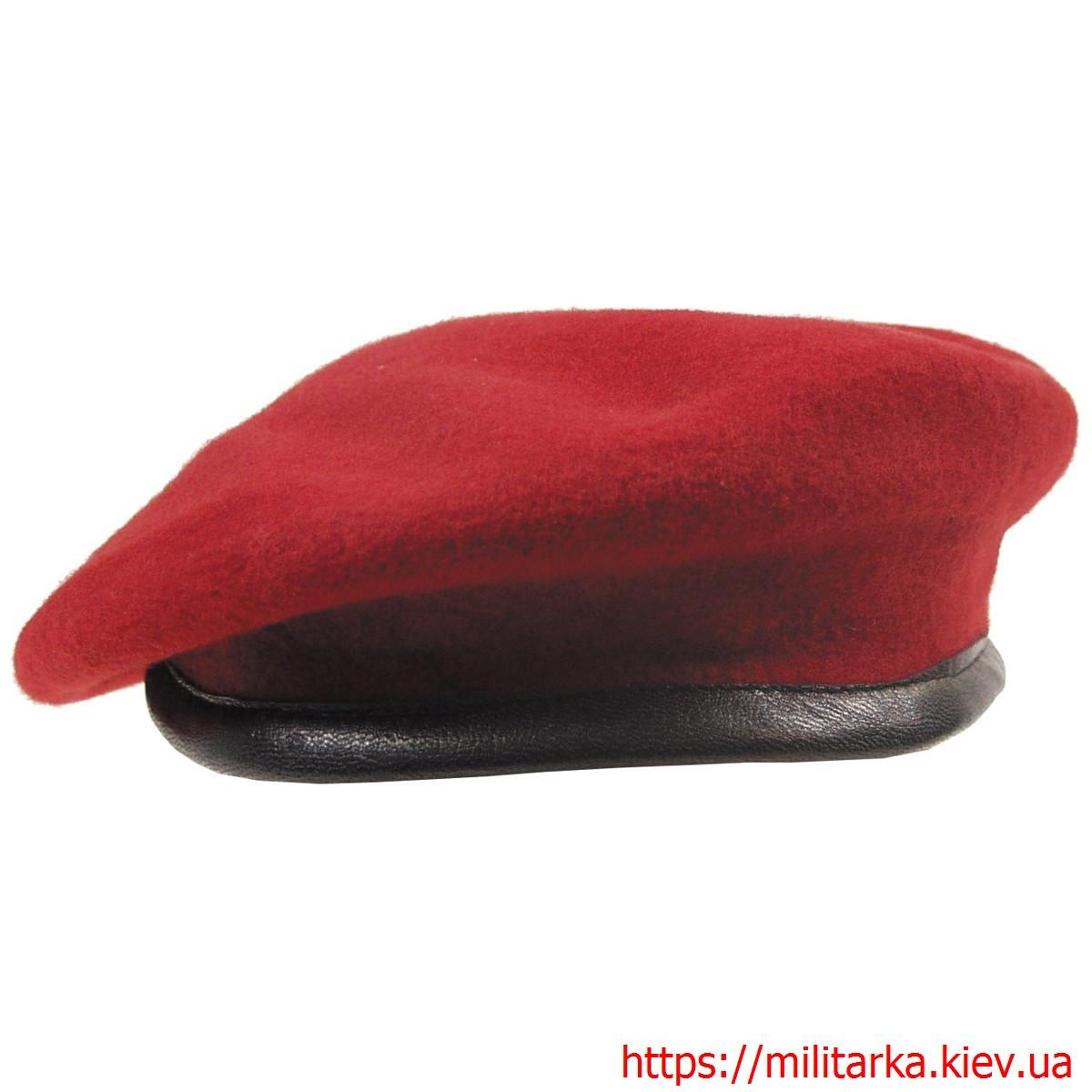 Берет бесшовный MFH red