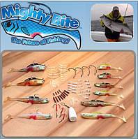 Набор снастей Майти Байт приманка Mighty Bite, набор приманок для рыбалки, рыболовный комплект Mighty Bite