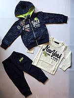Спортивный костюм 3-ка для мальчиков 1-5 лет 5лет
