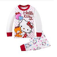 Пижама для девочки  штаны и кофточка с Хелло Китти