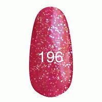 Гель-лак  Kodi 8 мл № 196 розовый с блестками