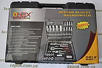 Набір головок ONEX Germany, 108 предметів, фото 1