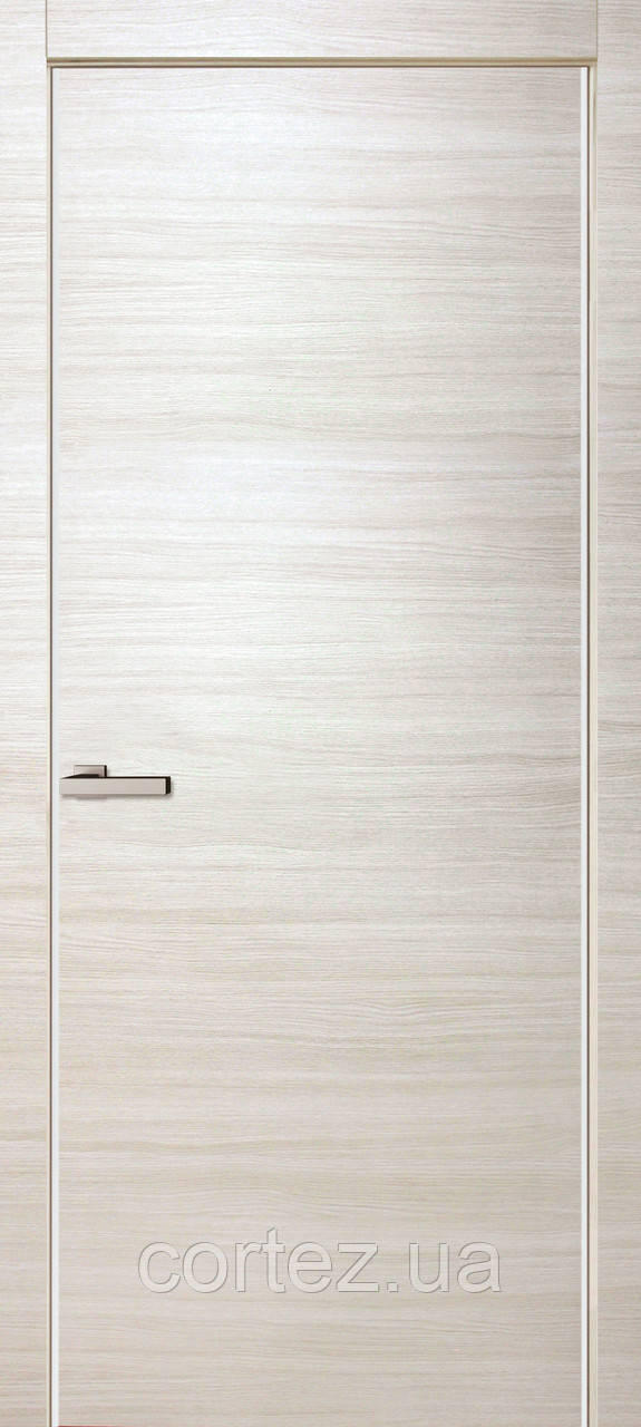 Межкомнатные двери пвх Alumo ПГ bianco line