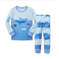 Пижама для мальчика   штаны и кофточка с длинным рукавом