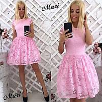 Платье (42 44) — гипюр купить в розницу в одессе  7км