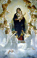 Копии картин Адольфа Вильяма Бугро. Картина Regina Angelorum (Царица ангелов). 100*150 см Холст, масло