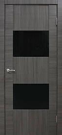 Межкомнатные двери пвх Deco 03 ЧС ash line