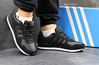 Мужские кроссовки Adidas Neo черные 2749
