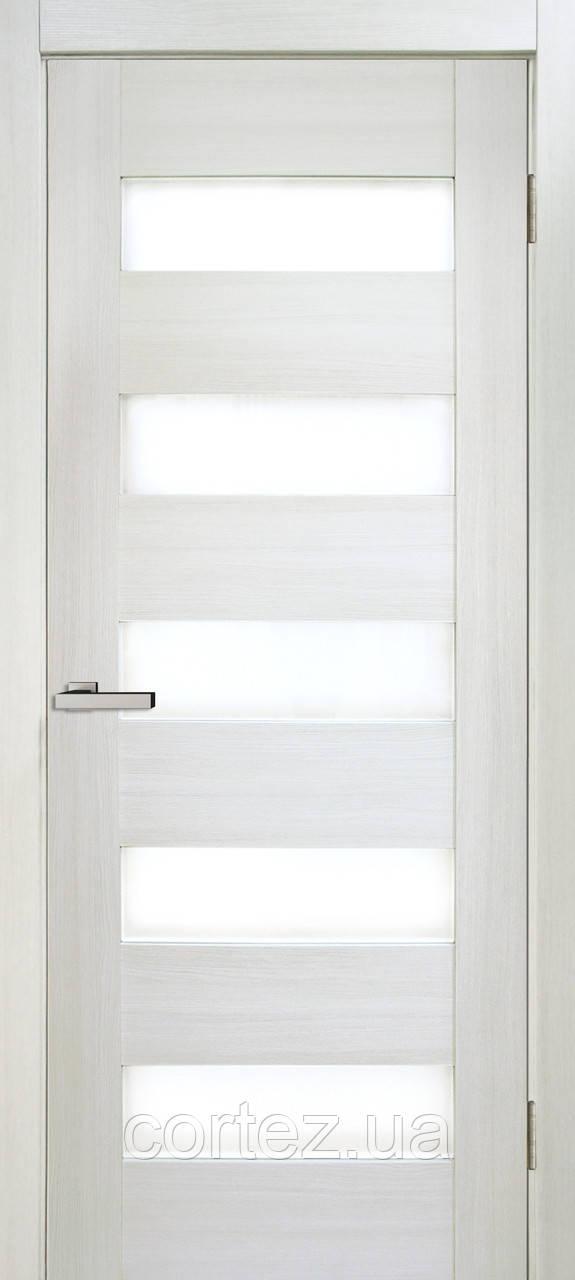 Межкомнатные двери пвх Deco 04 дуб bianco
