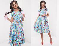 Женское платье (42,44,46) —лен купить в розницу в одессе  7км