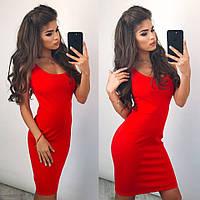 Женское платье (42,44,46) —трикотаж купить в розницу в одессе  7км