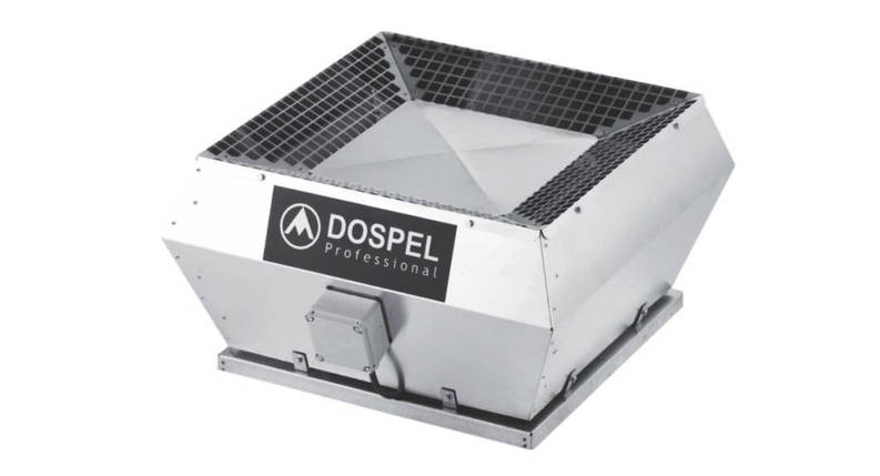 Dospel Крышный вентилятор WDD 355-H2 , фото 2