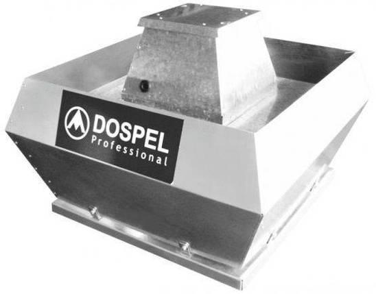 Dospel Крышный вентилятор WDH 500-H2, фото 2