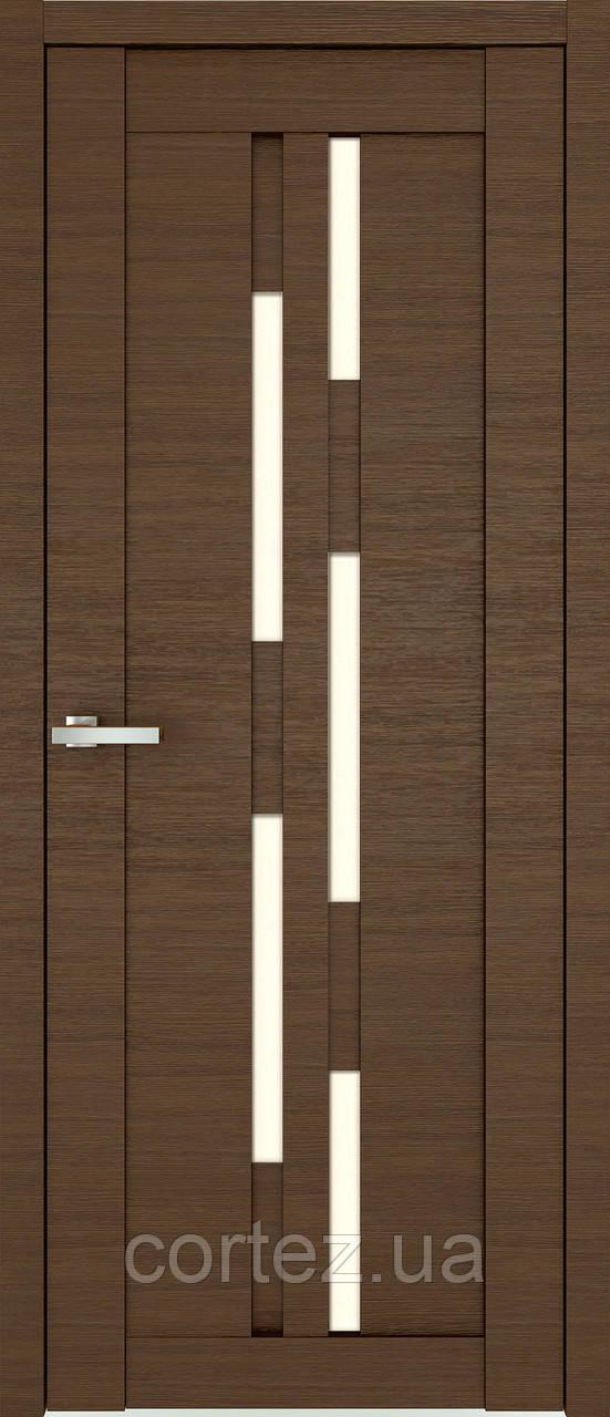 Межкомнатные двери пвх Deco 08 дуб amber line