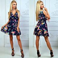 Женское платье (универсал) —шифон купить в розницу в одессе  7км