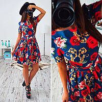 Платье (S, M, L) — джинс-коттон купить в розницу в одессе  7км