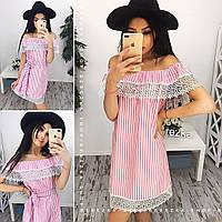 Платье (S-M) — хлопок от компании Discounter.top