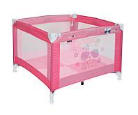 Детский манеж Play Pink Kitty