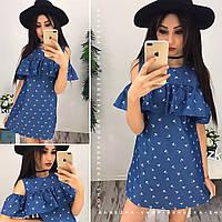 Платье (S  M) — джинс купить в розницу в одессе  7км