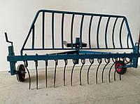 Грабли (EXPERT) для мотоблока крепление спереди Агромарка