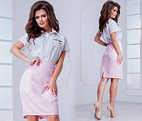 Юбка ( 42-44, 44-46, 48-50, 52-54) — креп купить в розницу в одессе 7км