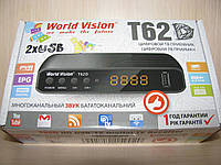 World Vision T62D цифровой эфирный DVB-T2 ресивер
