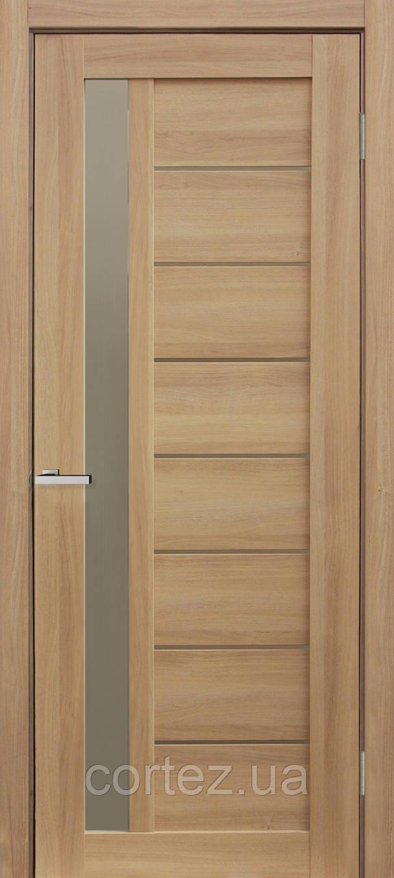 Межкомнатные двери пвх Deco 09 дуб tobacco