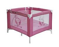 Детский манеж Play Station Pink Kitten