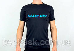 Футболка Salomon black-blue