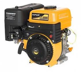 Двигатель KIPOR GK205S (бензин, 3,6-4,0 кВт, ручной старт, 1500-1800 об/мин, с редуктором)