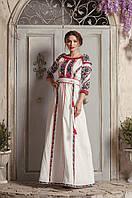 Дизайнерська сукня вишиванка, фото 1