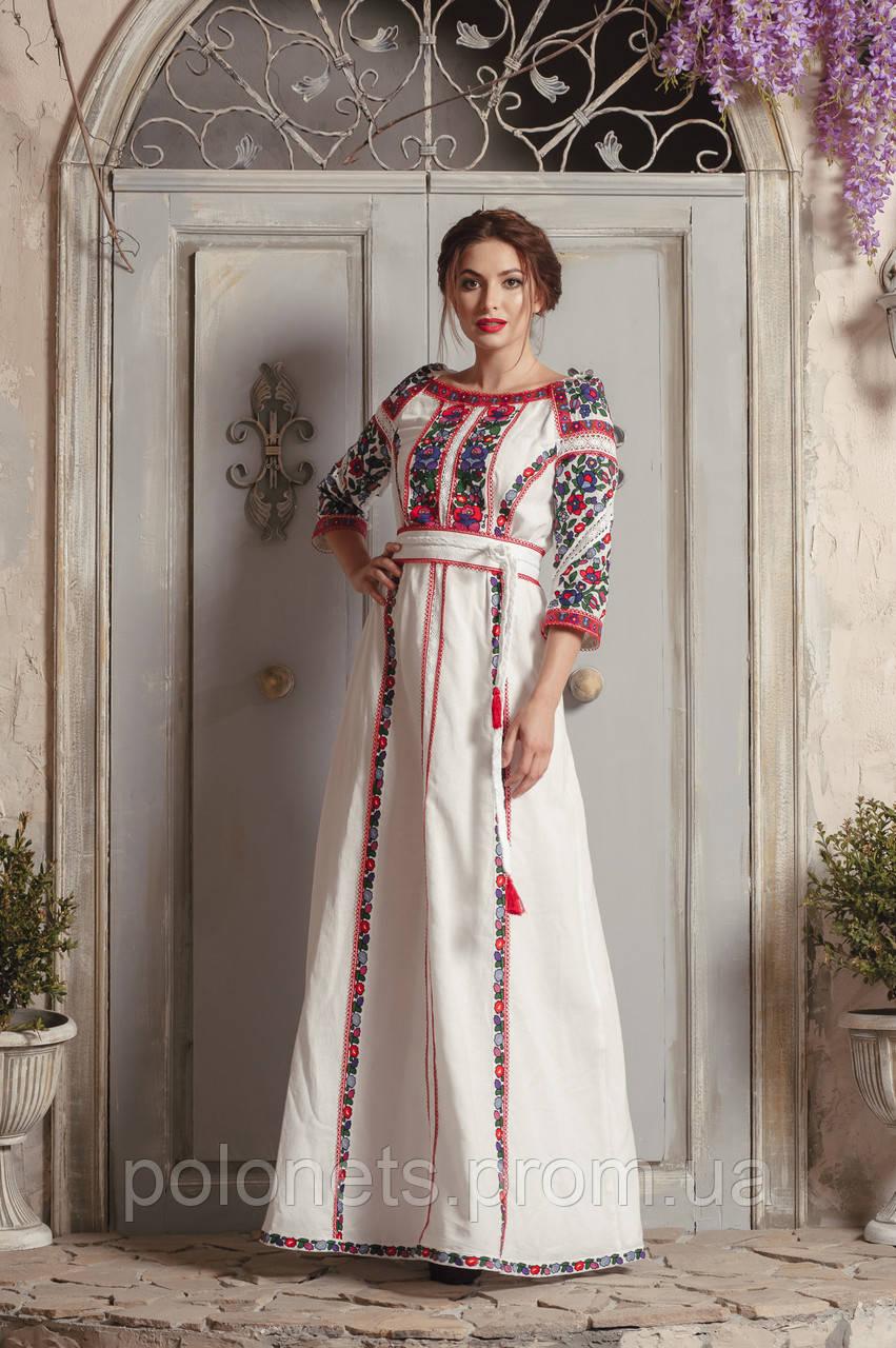 Дизайнерська сукня вишиванка  продажа 48dae61780eef