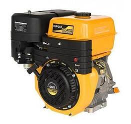 Двигатель KIPOR GK400E (бензин, 7,0-7,7 кВт, эл. старт, 3000-3600 об/мин)
