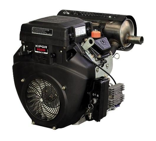 Двигатель KIPOR KG690 (бензин, 12,0-14,0 кВт, эл. старт, 3000-3600 об/мин)