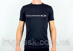 Футболка Salomon-1 black-blue