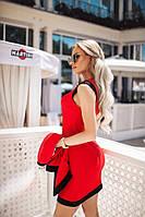 """Стильный нарядный костюм платье с жакетом """"Sati"""" 2P/GA-4676"""