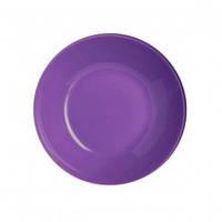Тарелка глубокая Luminarc Arty Purple 20 см  L1055