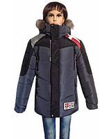 Куртка для мальчика прямого кроя