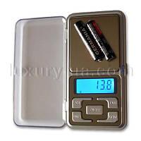 Ювелирные весы 668/MH-500, 500г (0,1)/ Портативні карманні електронні ювелірні ваги