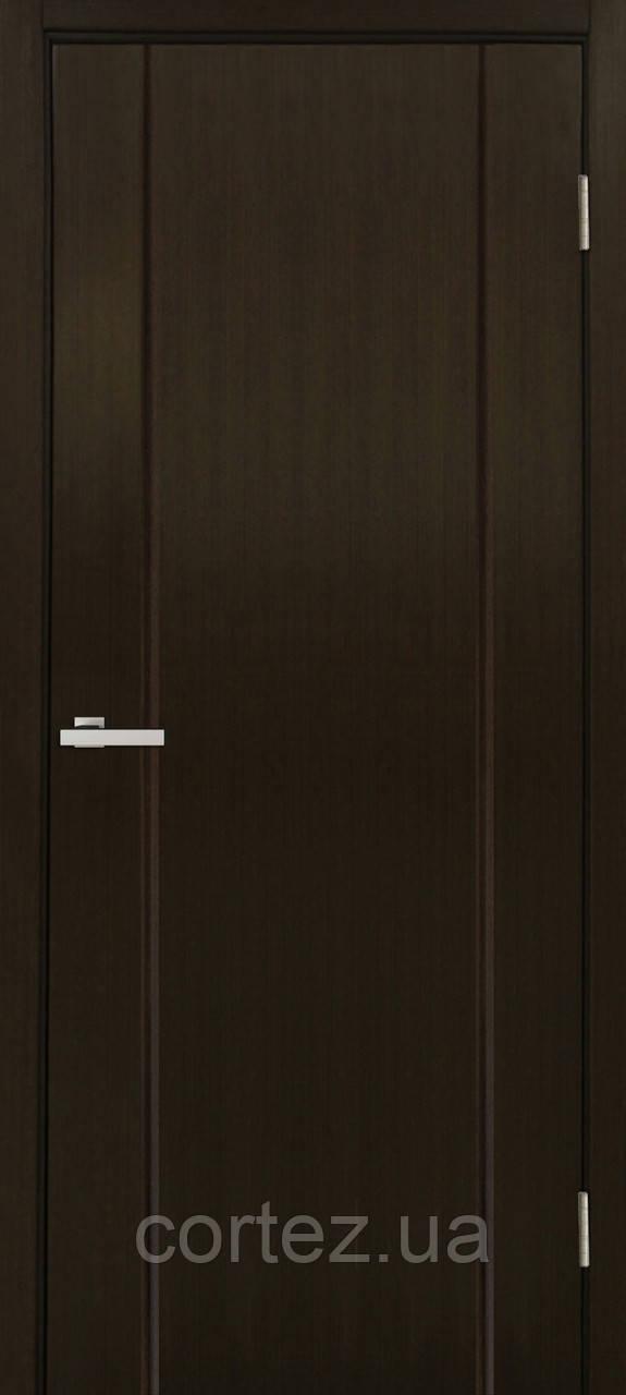 Межкомнатные двери шпон Премьера ПГ венге FL