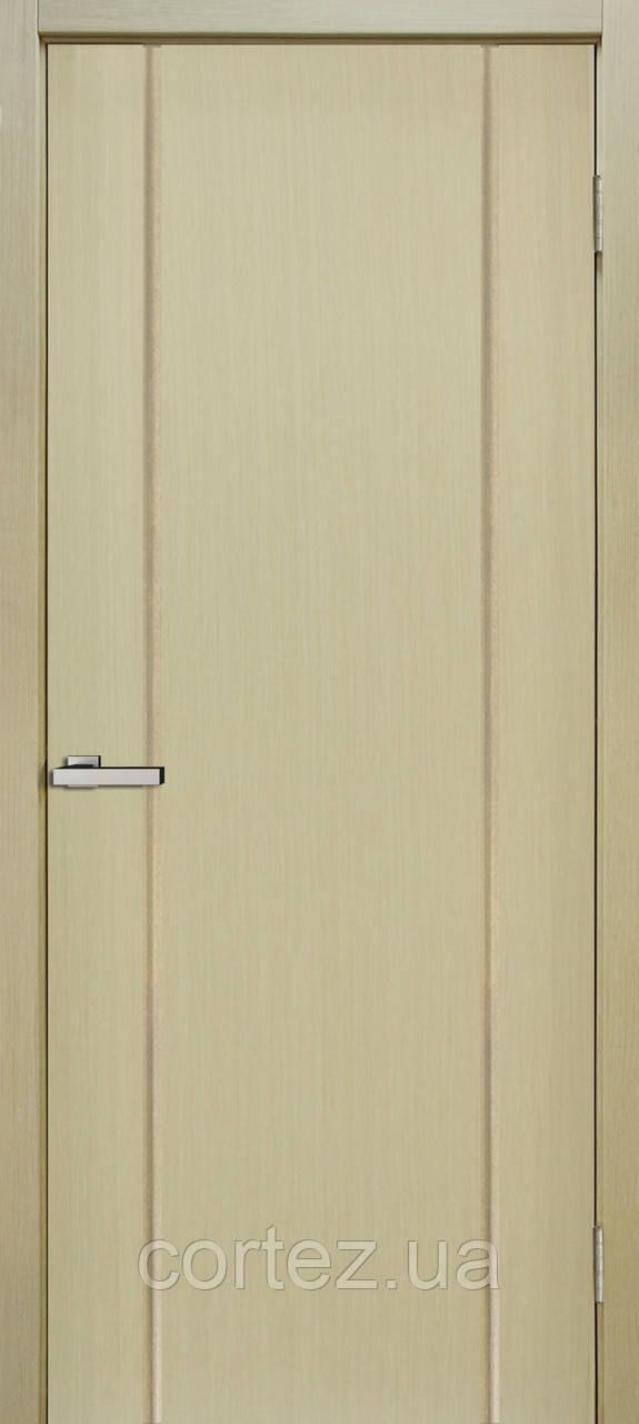 Межкомнатные двери шпон Премьера ПГ дуб беленый