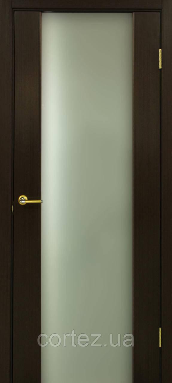Межкомнатные двери шпон Премьера ПО венге FL